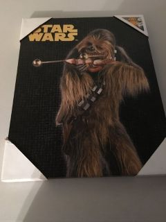 New: Star Wars Chewbacca Picture