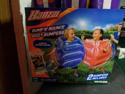 Body bumpers brand new never opened