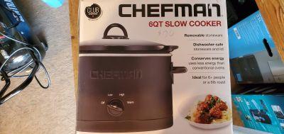 CHEFMAN - 6-Quart Slow Cooker