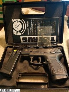 For Sale: TAURAS PT 609 PRO 9MM