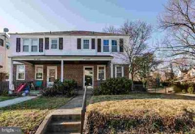 214 Wilden Dr Towson Three BR, update end of group brick townhome