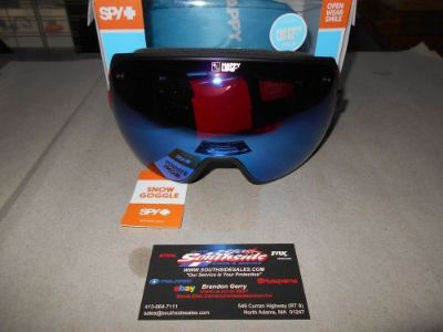 Sell Spy Doom Snowmobile Goggles Prismatic Red HROS/wDKBLSP+HBRZ/wSMR 313073648279 motorcycle in North Adams, Massachusetts, United States, for US $149.95