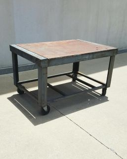 Professional Built Heavy Duty Welding Table on Casters