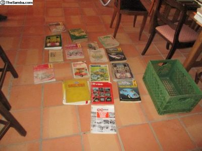 lots of vw books manuals and other related reading