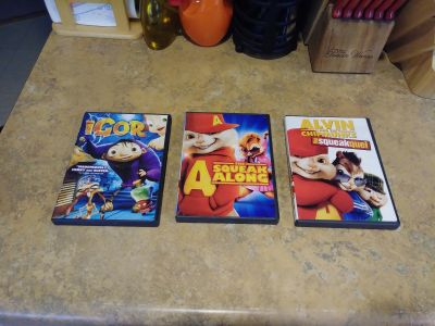 Kids DVDS bundle