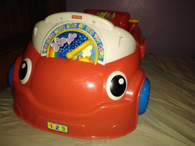 Fisher-Price Laugh & Learn Car