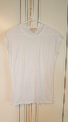 White Michael Kors Tee
