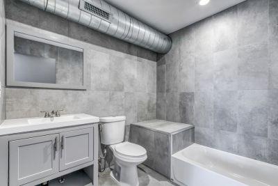 Epic Must See 1,500 SQ.FT Bi-Level 2 Bed 2 Bath Flat Backyard Contemporary Design