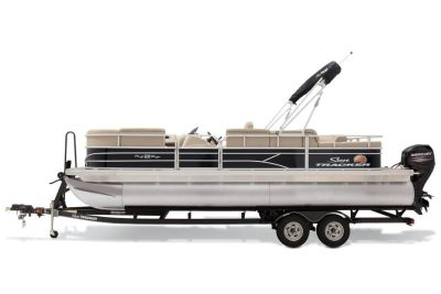 2019 Sun Tracker Party Barge 22 RF DLX Pontoon Boats Gaylord, MI