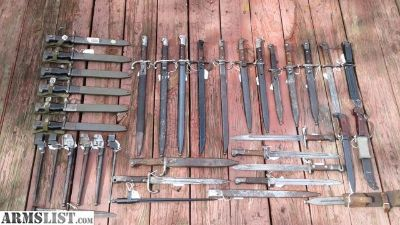 For Sale: Bayonet Collection