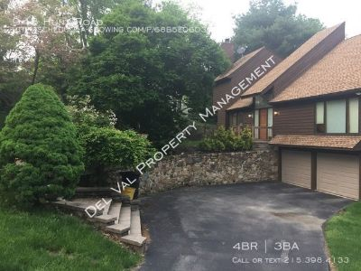 Lovely Single Family Home for Rent - 943 Hunt Road, Radnor - Available August 1