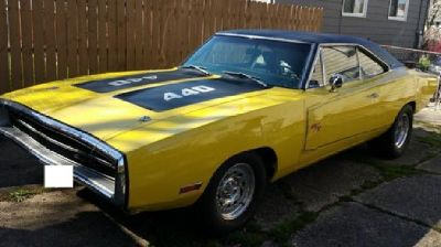 1970 Dodge Charger RT fy1 Hi Impact Yellow