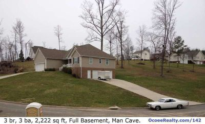 3br 2ba 2,222 sq ft Home w/6-Car Garage, Full Basement, Man Cave, fsbo