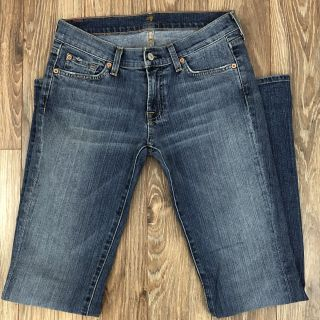 7 For All Mankind Bootcut 5 Pocket Jeans Size 27