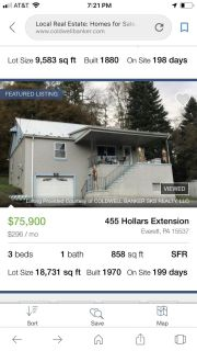 House for sell through Coldwell banker