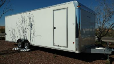 All Aluminum Enclosed Trailer, LIKE NEW!