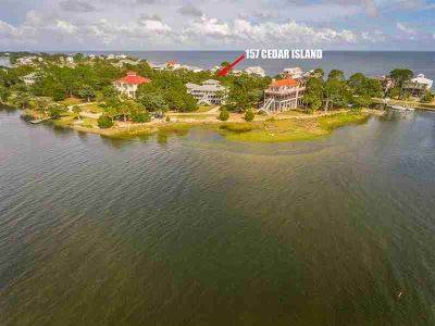 157 Cedar Island Way Crawfordville Four BR, awesome views of