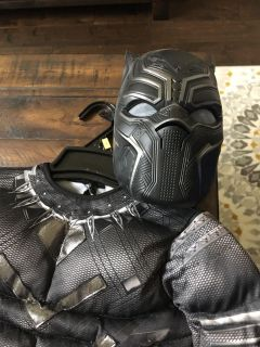 Black panther costume size small