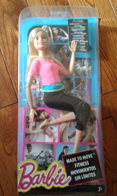 New Made to Move Barbie