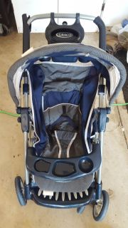GRACO toy baby stroller.