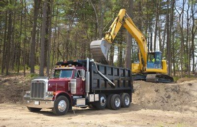 Heavy equipment & dump truck loans