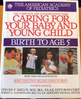 Book: caring for your baby and young child