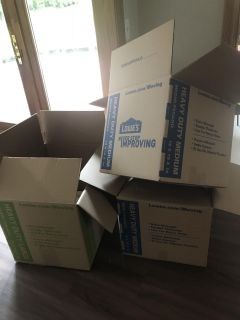 3 heavy duty moving boxes