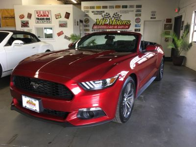 2017 Ford Mustang EcoBoost Premium Convertible (Ruby Red Metallic Tinted Clearcoat)