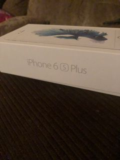 APPLE IPHONE 6S PLUS 64GB SILVER FACTORY UNLOCKED FOR SALE