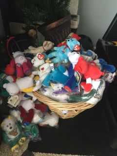 Unique state bears and beanie bears