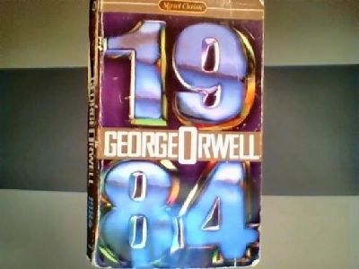 Used 1984 book by George Orwell