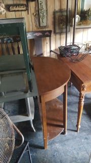 OCC. Wood tables some antique