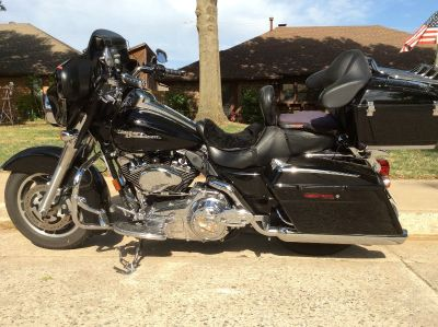 2008 HARLEY DAVIDSON Street Glide BLACK TOURING