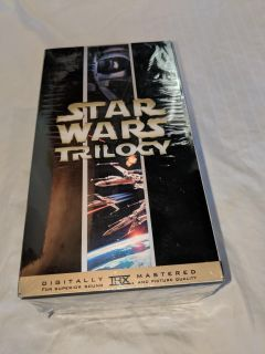 Star Wars Trilogy VHS movies-New
