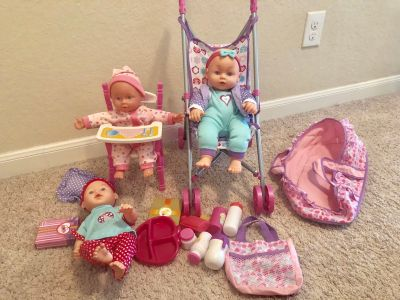 Baby Doll Toy Lot