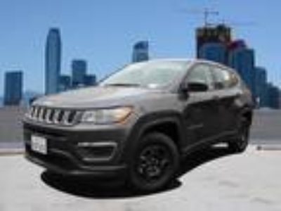 Used 2019 Jeep Compass Granite Crystal Metallic Clearcoat, 15 miles