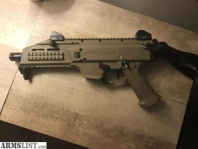For Trade: Cz scorpion Evo 2 FDE