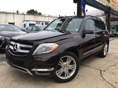 2013 Mercedes-Benz GLK-Class GLK350 4MATIC (Cuprite Brown Metallic)