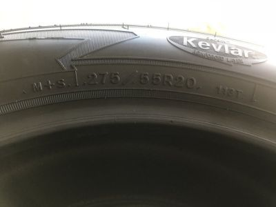 TIRES - Goodyear Wrangler AT Kevlar 275/55R20