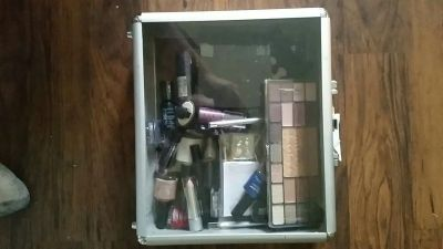 Makeup and case