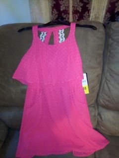 NWT Paper doll girls pink dress size 10