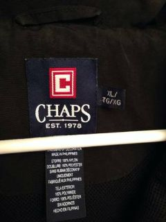 Mens XL Chaps Pullover Jacket - Never Worn