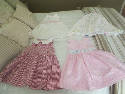 Girls hand smocked dresses size 2