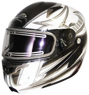 """Sell ZOX GENESSIS """"SN2"""" SVS ALIZE/SILVER 2X-LARGE W/ELECTRIC SHIELD 86-55356E motorcycle in Ellington, Connecticut, US, for US $309.95"""