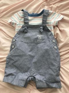 Cat & Jack overall set