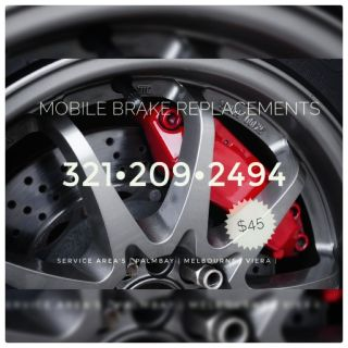 Mobile Brake Replacements & Oil Changes