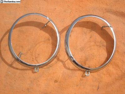 Old Headlight Chrome Rings