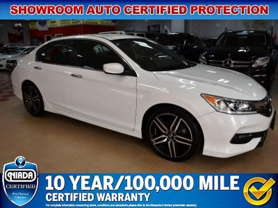 2016 Honda Accord Sport Sedan CVT (White)