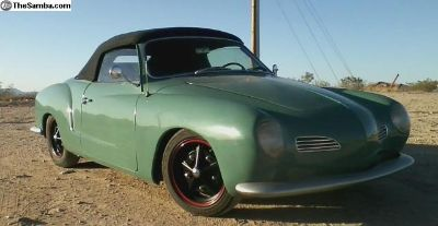 1964 Karman Ghia Convertible