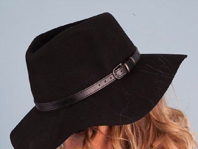 Panama Wool Hat - Shopping Bare